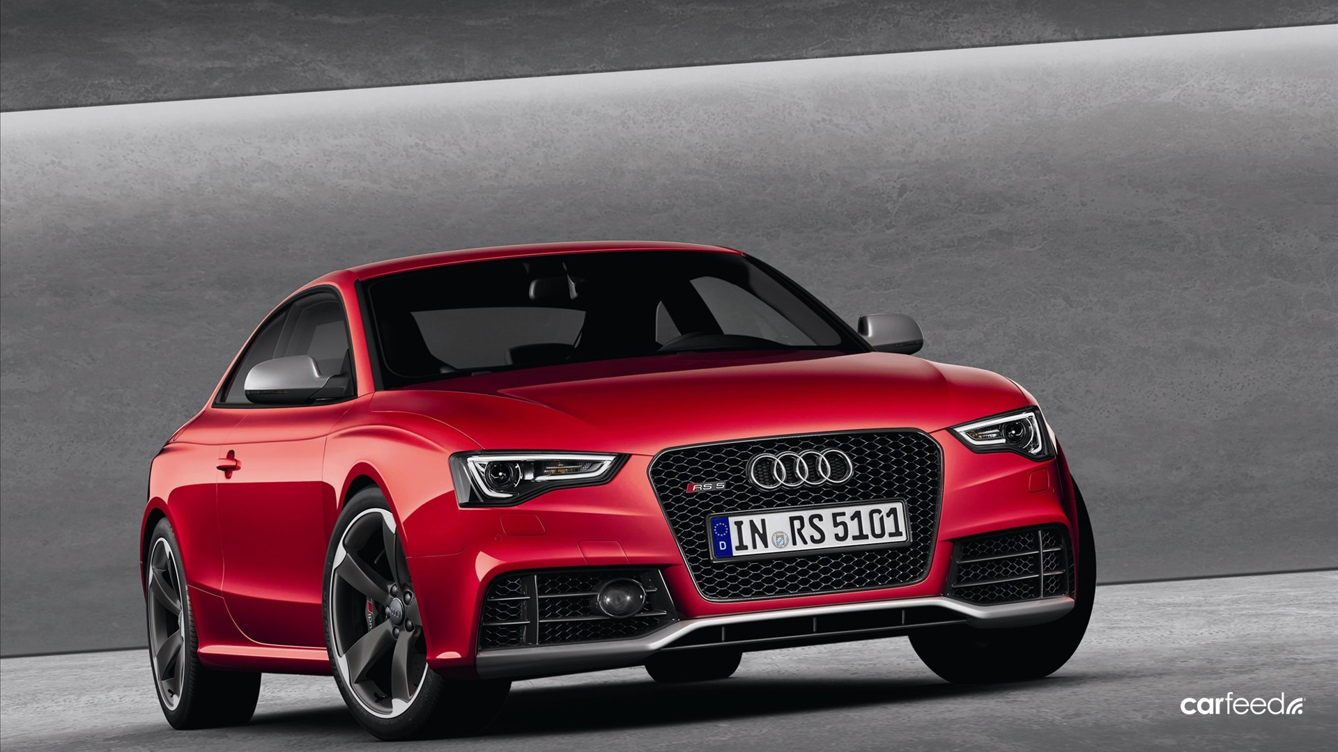 2012 Audi RS5  front view HD Wallpaper