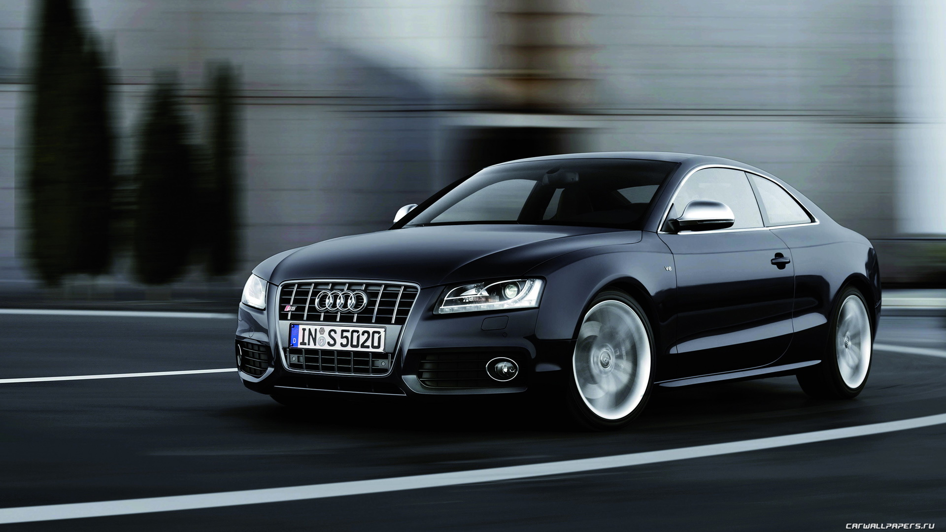 static page audi s5 2007 2 HD Wallpaper