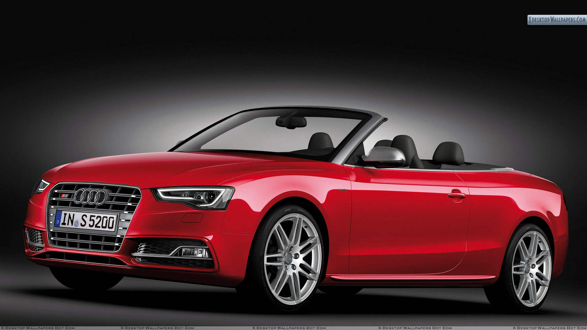 2012 Audi S5 Cabriolet Front HD Wallpaper