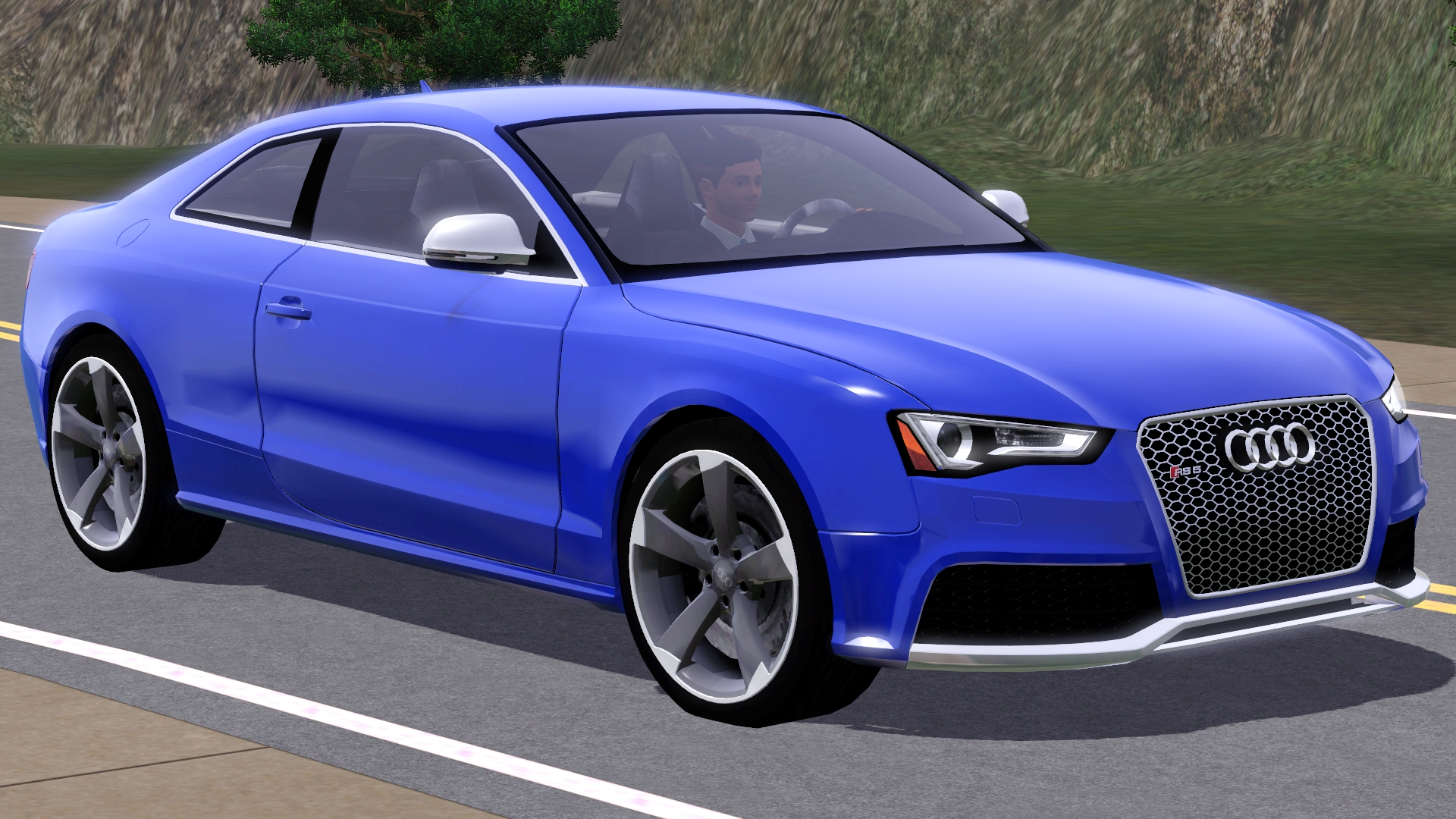 Sims 3   2013 Audi RS5 HD Wallpaper