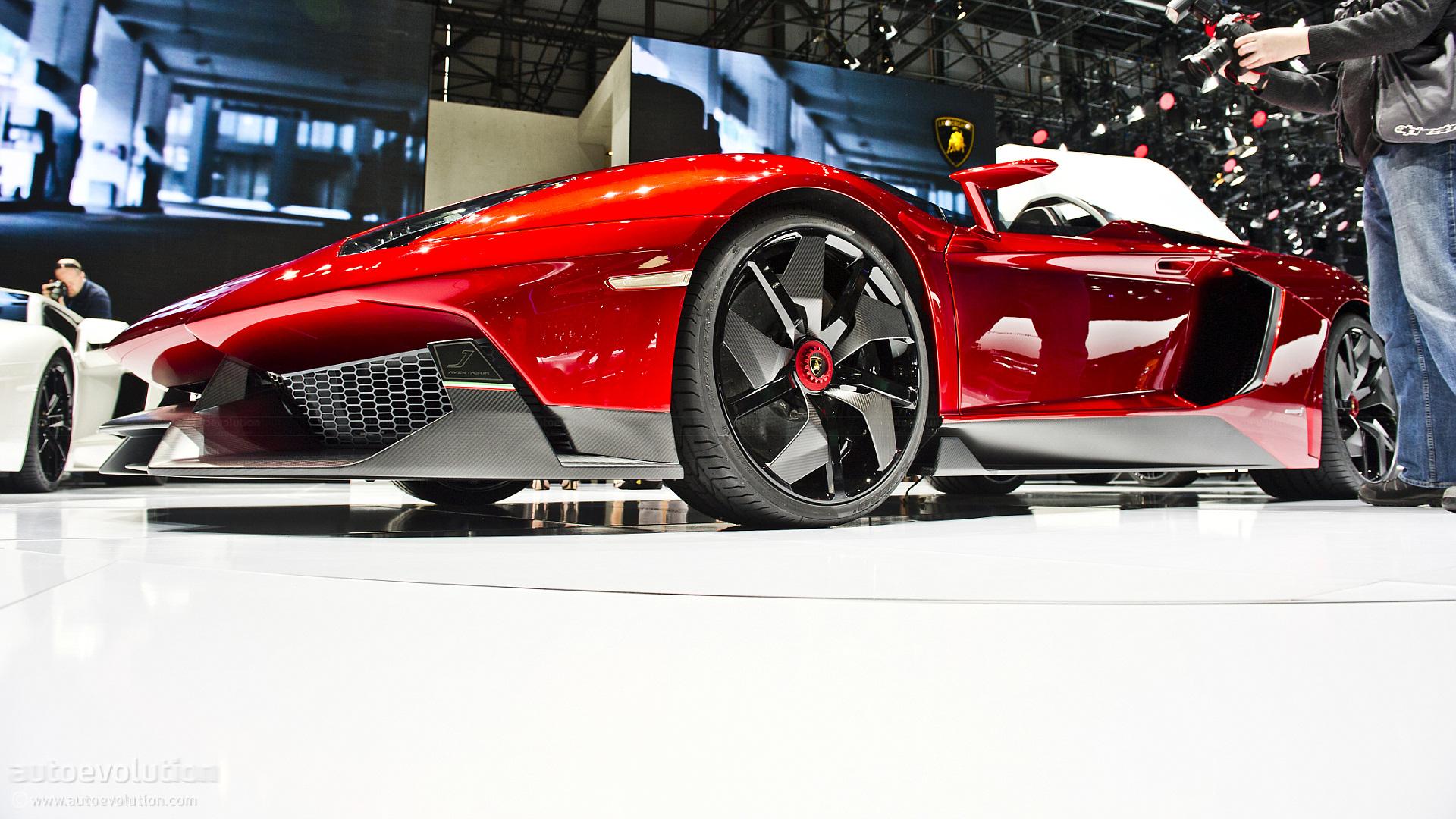 Lamborghini Aventador J HD Wallpaper