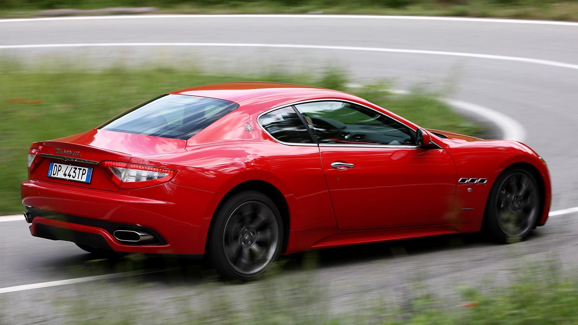 Maserati Granturismo HD Wallpaper