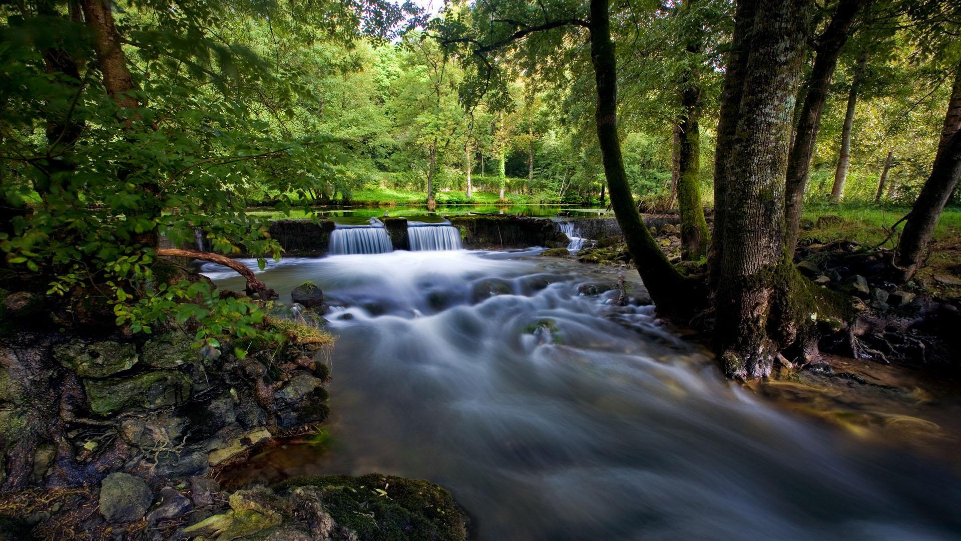 Free Download Rivers  HD Wallpaper