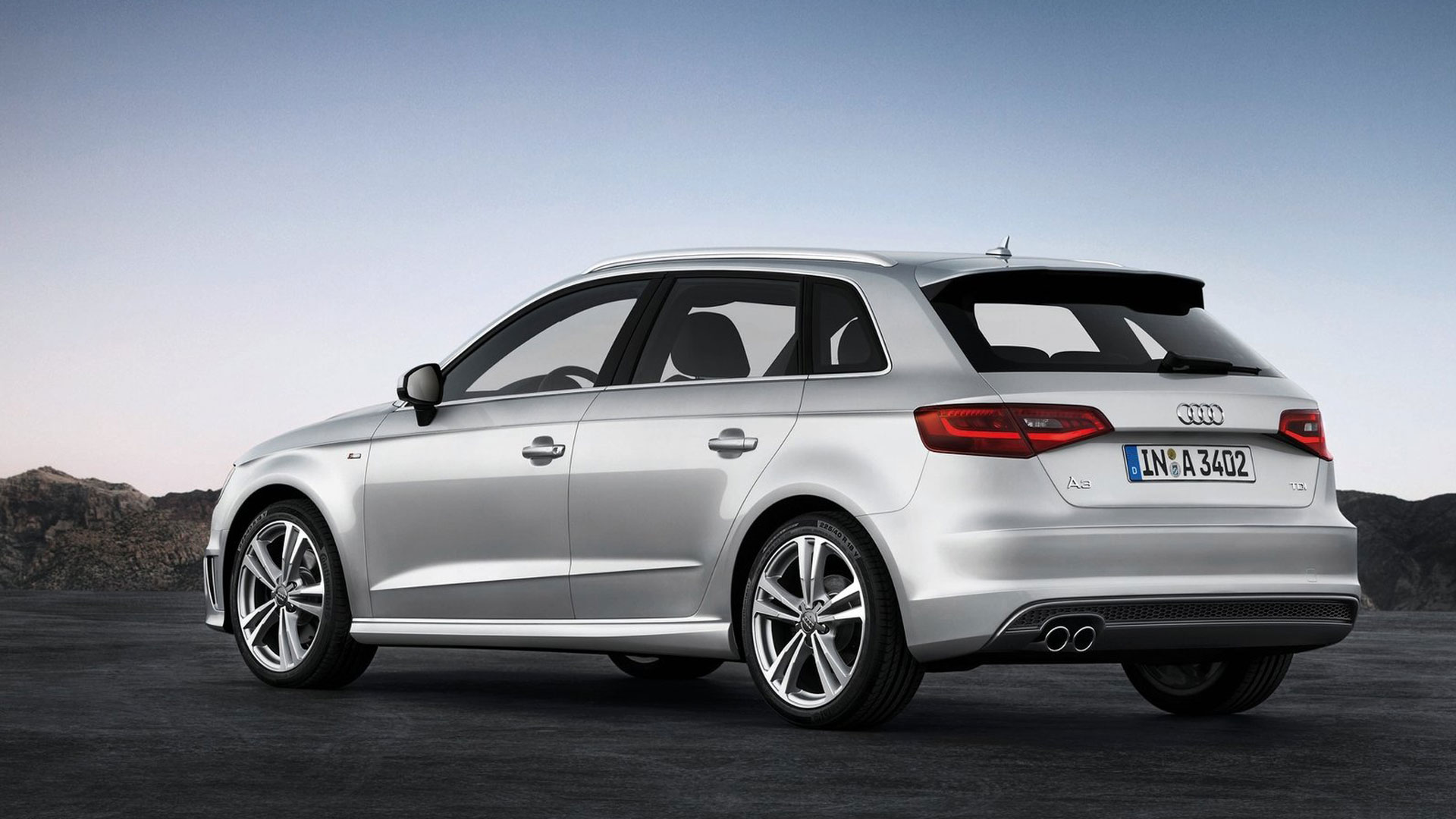 2014 Audi A3 Sportback S Line HD Wallpaper