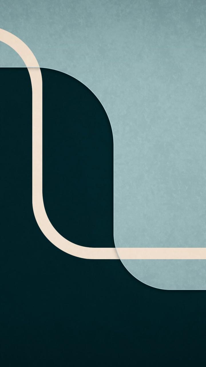 720x1280 Gray Abstract Shapes HD Wallpaper