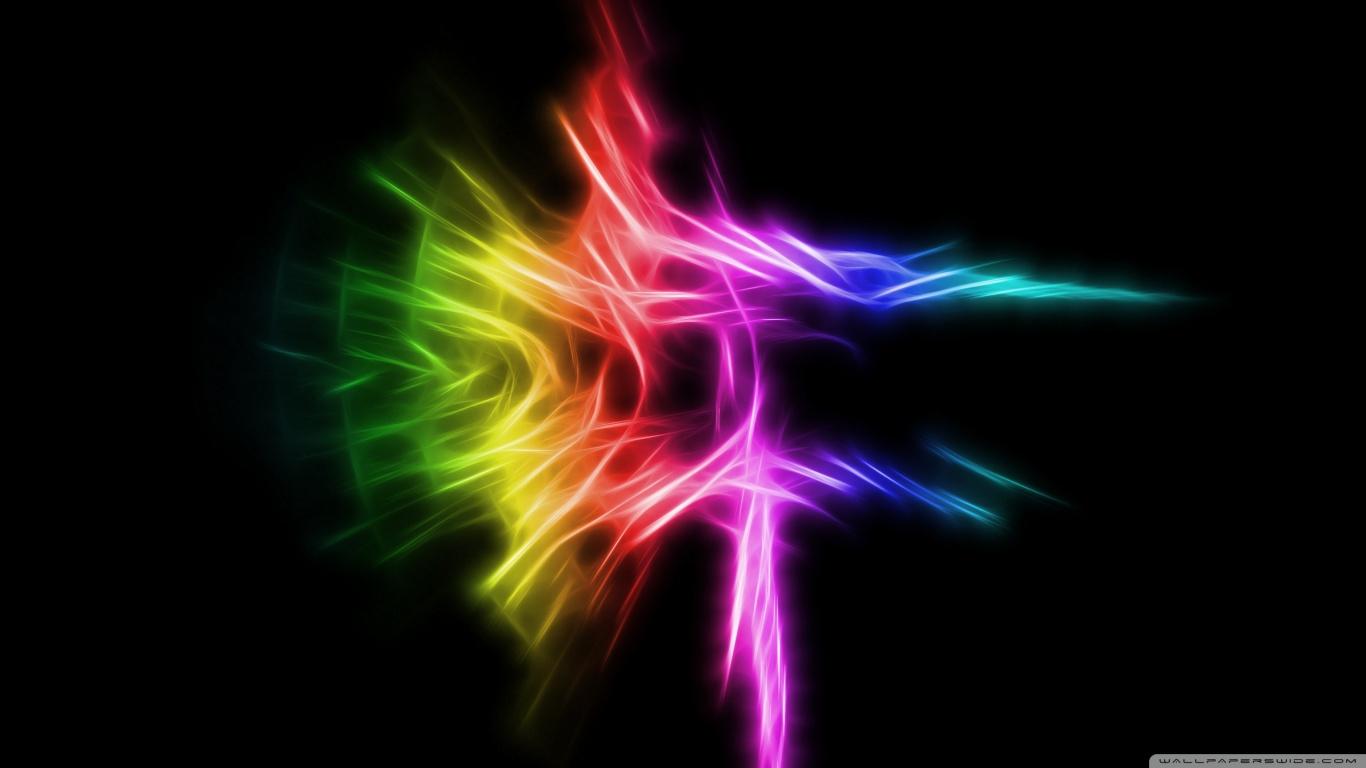 Abstract Rainbow Colors Hd HD Wallpaper