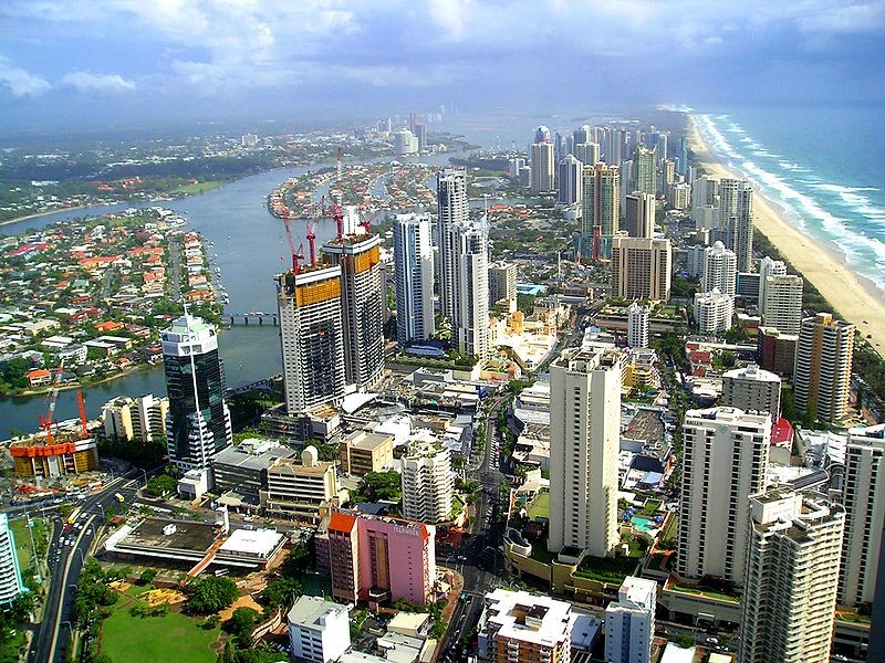 Flights to Gold Coast HD Wallpaper