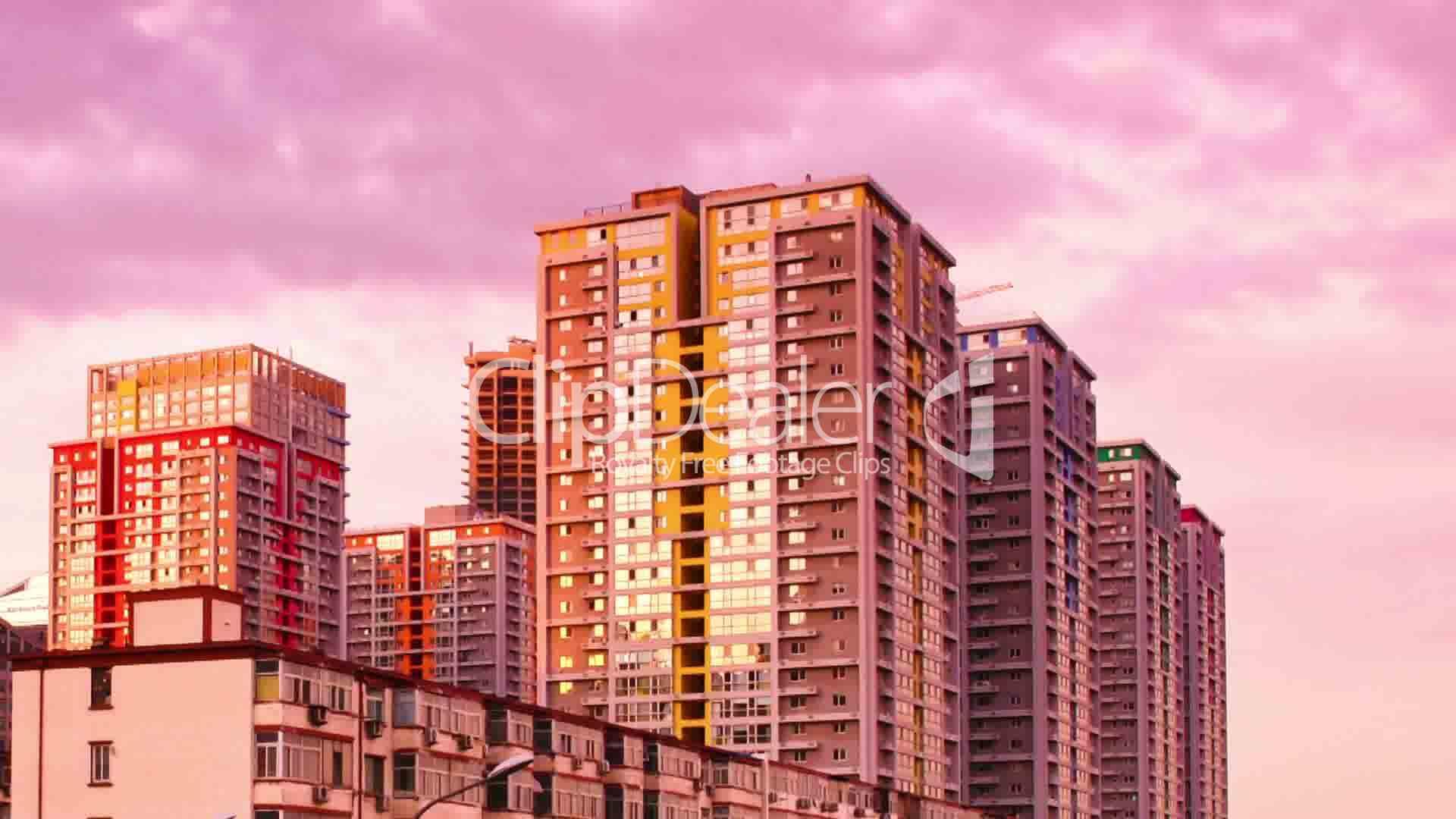 Skyscrapers in Beijing  China HD Wallpaper