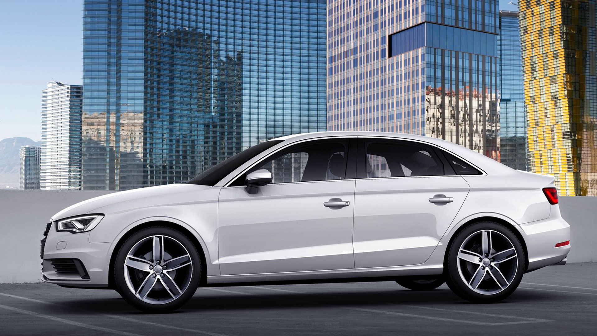 Download   2014 Audi A3 Sedan HD Wallpaper