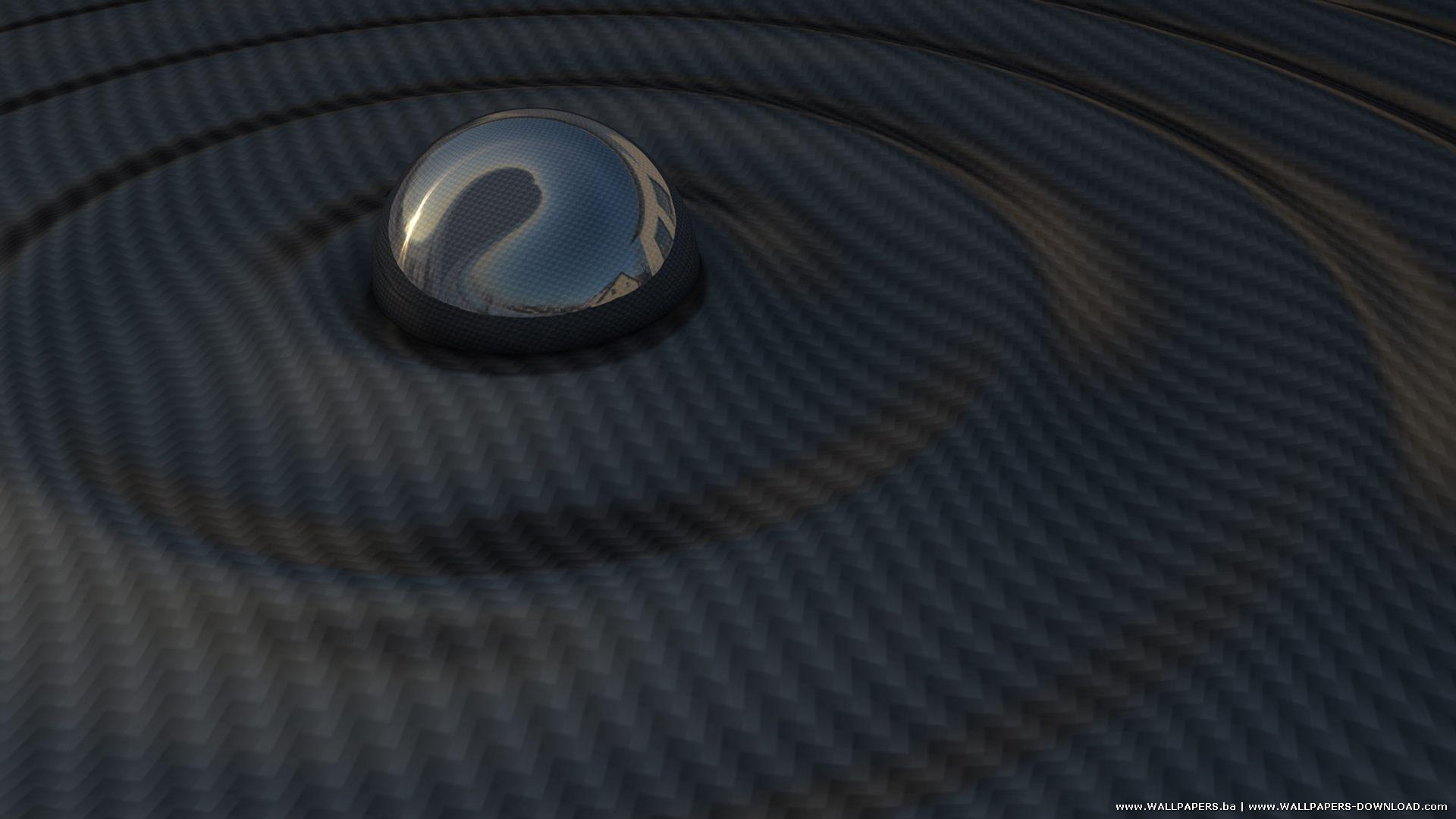 Carbon Ripple Abstract Rare HD Wallpaper