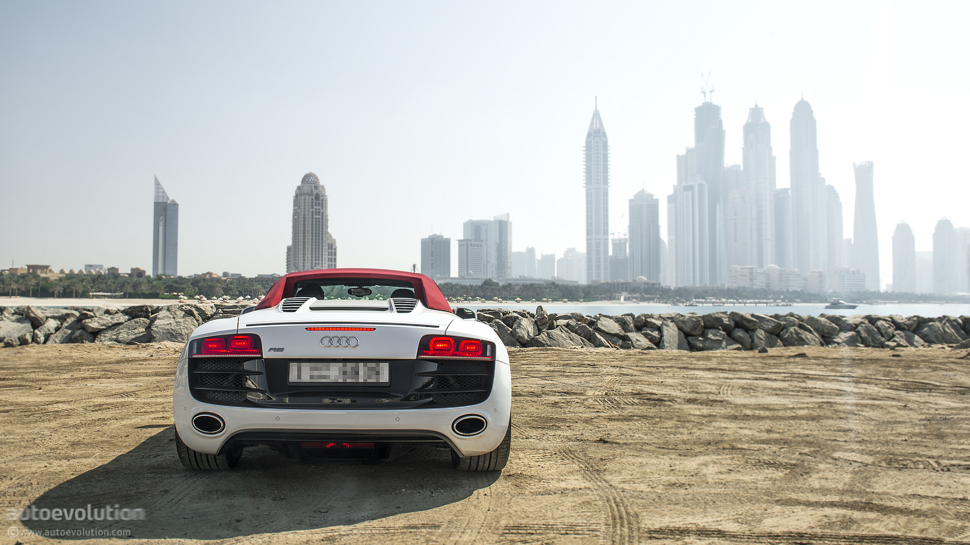 back to   AUDI R8 V10 Spyder Test Drive  HD Wallpaper