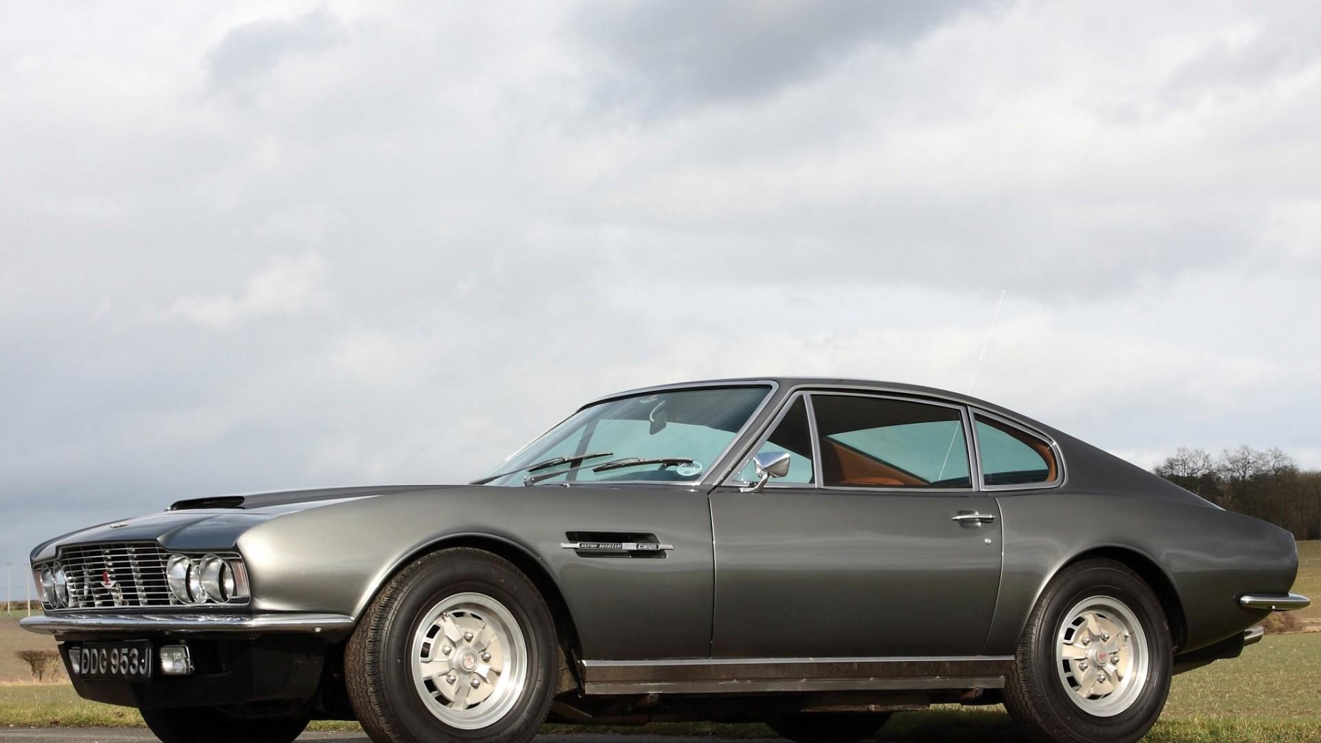 1967 Aston Martin DBS   side HD Wallpaper