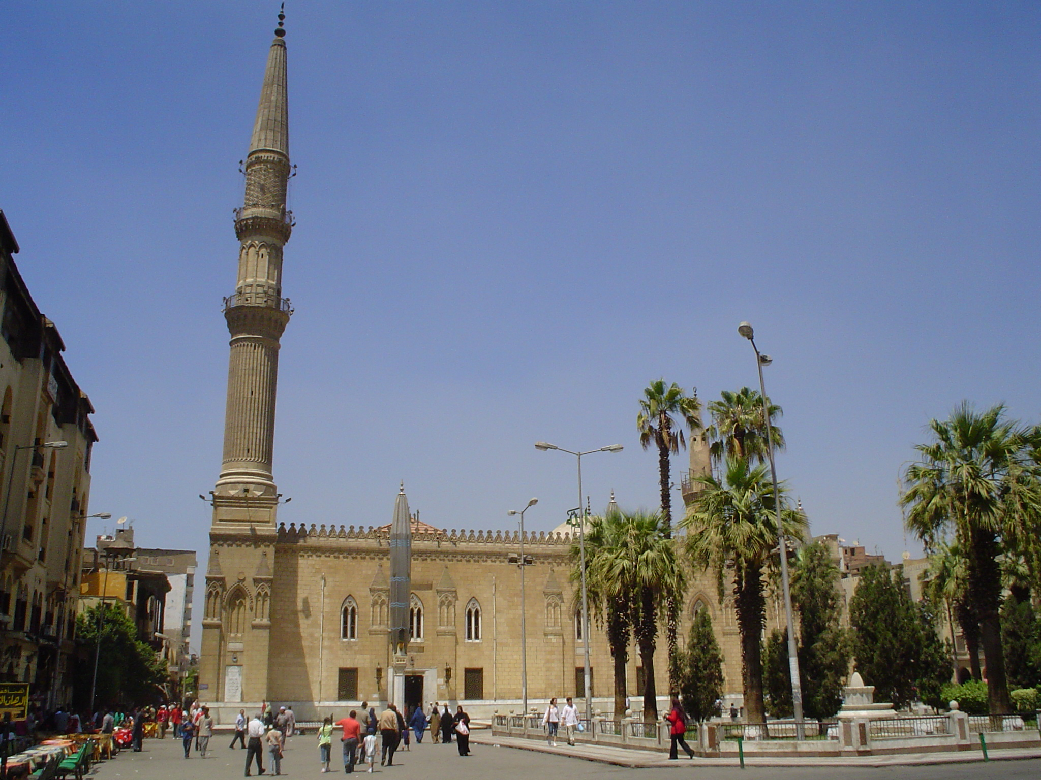 File Al Hussein Mosque Cairo HD Wallpaper
