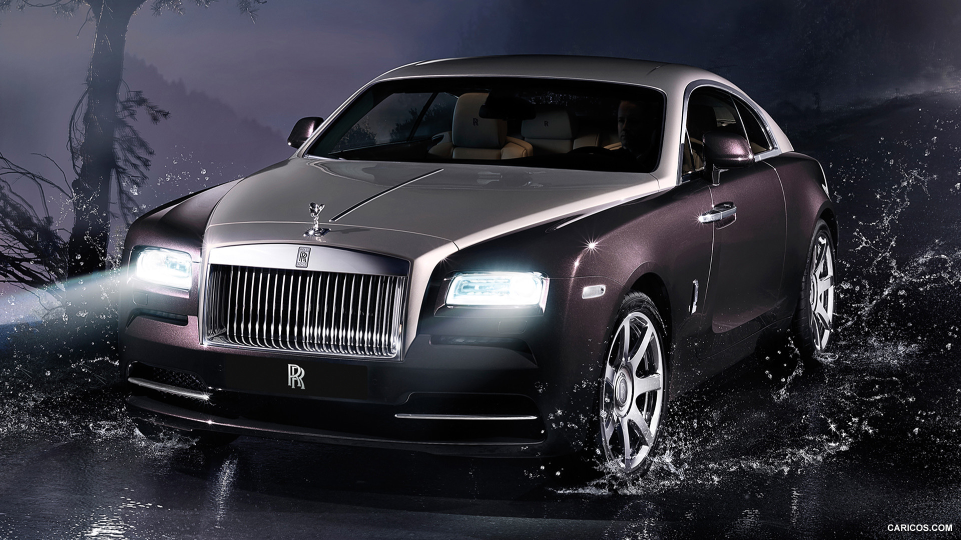 2014 Rolls Royce Wraith Coupe HD Wallpaper