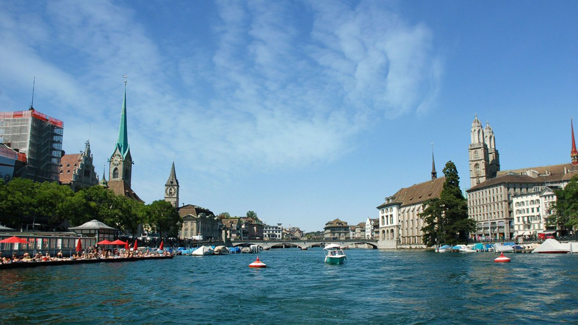 Zurich City Switzerland HD Wallpaper