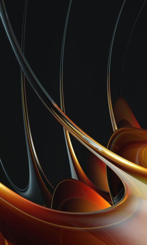 photo line abstract 3d color honey abstract art HD Wallpaper