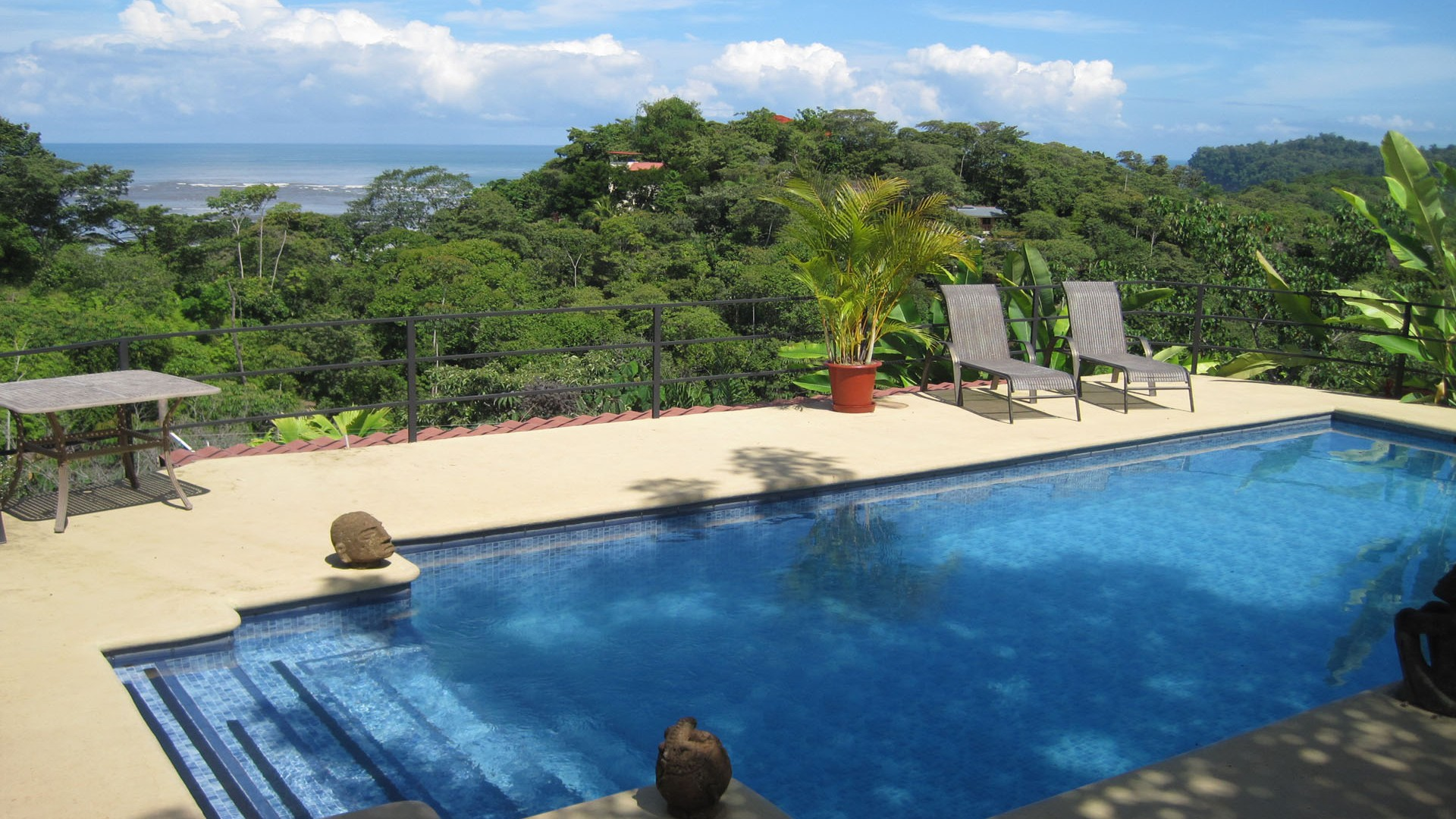 Resort Pool   Costa Rica HD Wallpaper