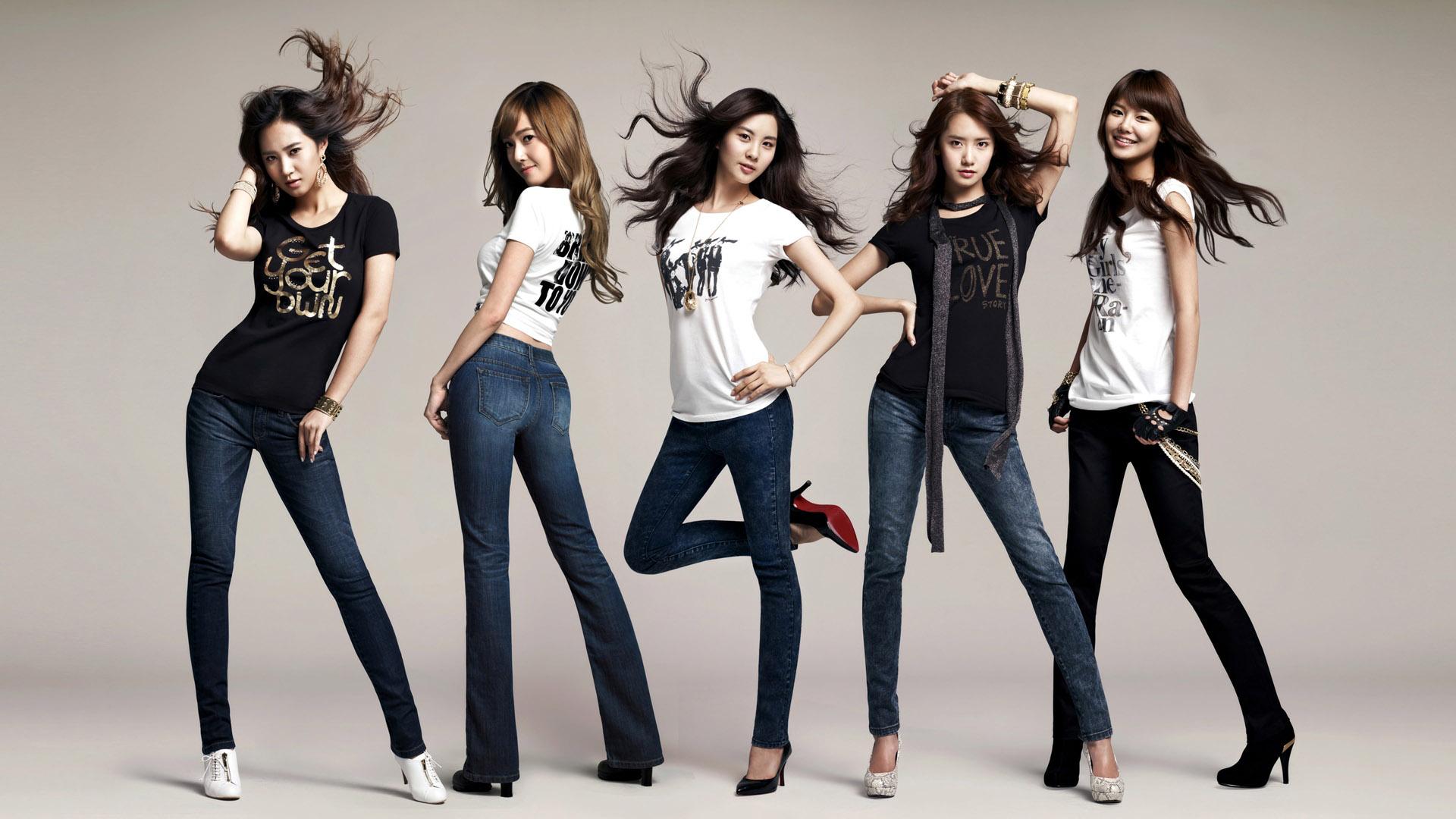 South Korea girlhood combined HD Wallpaper