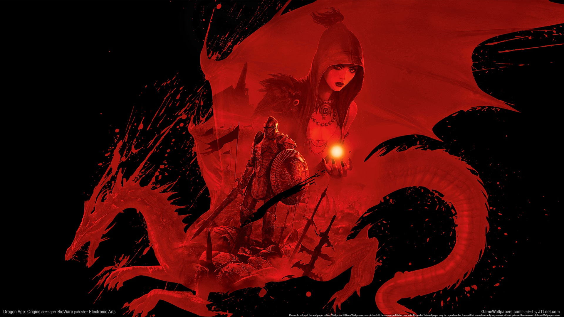Bioware Dragon Age Origins HD Wallpaper