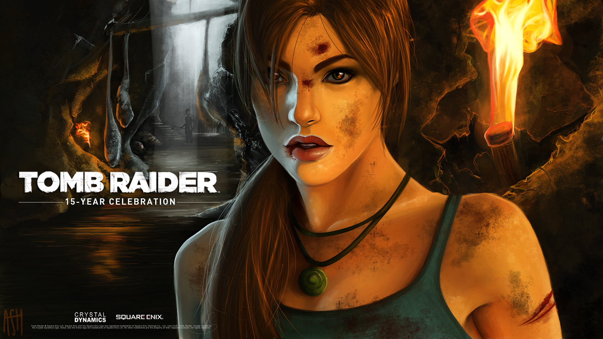Pin Tomb Raider Desktop HD Wallpaper