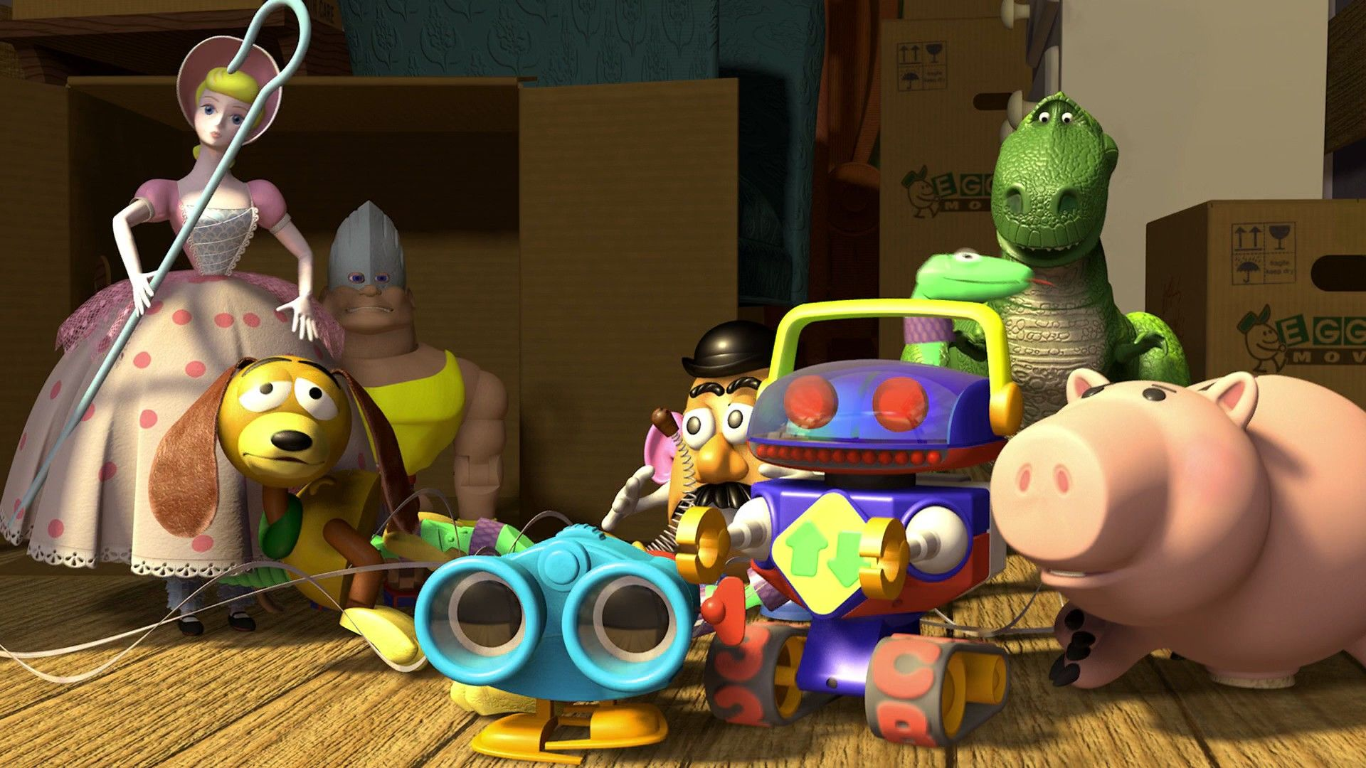 Toy Story  1995  HD Wallpaper