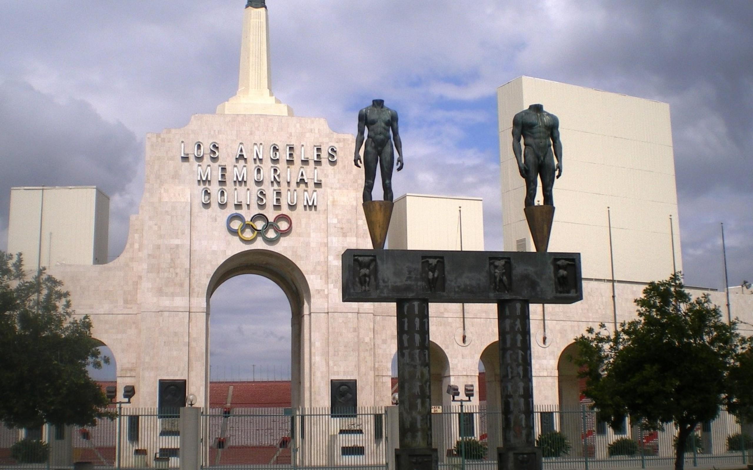 Los Angeles Memorial Coliseum HD Wallpaper