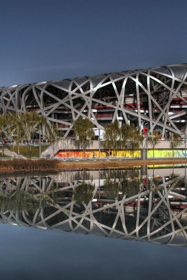 Birds Nest  Beijing  China  HD HD Wallpaper