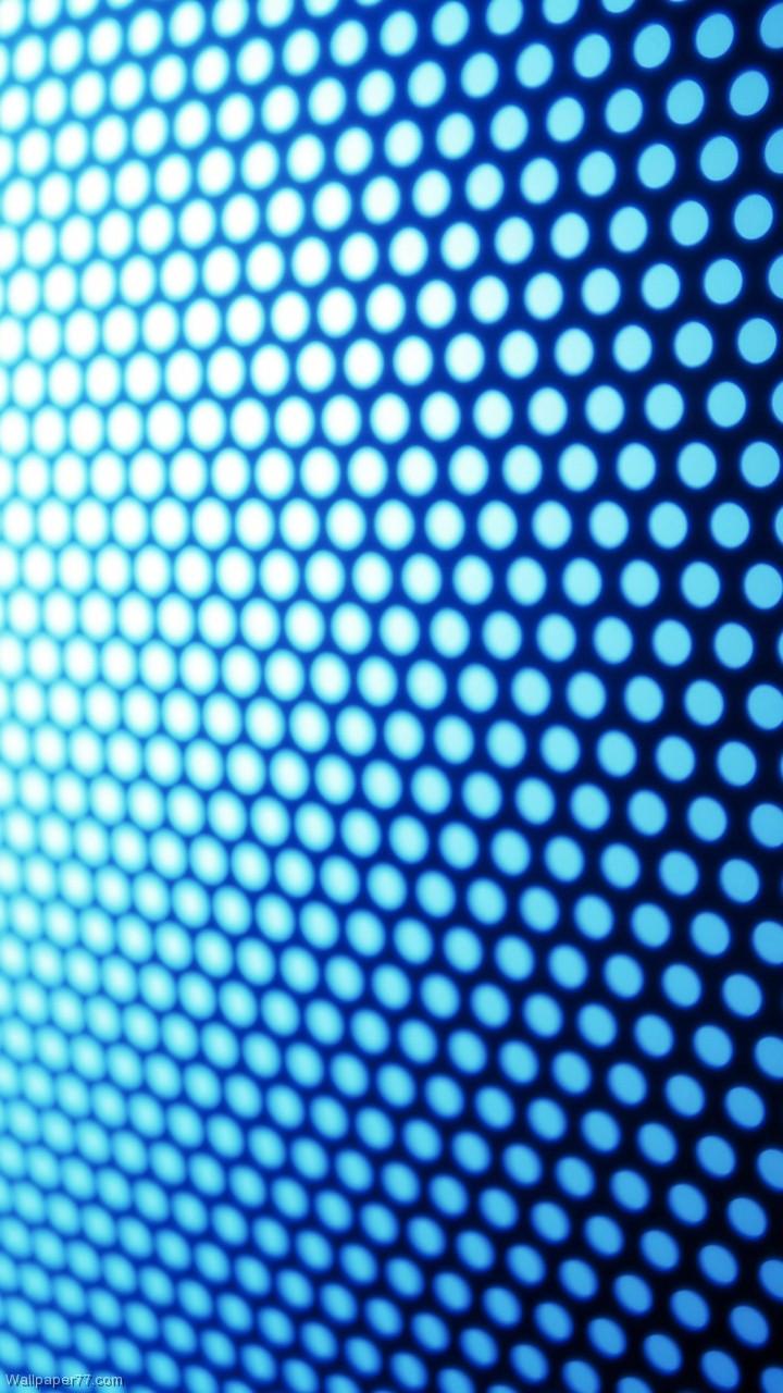 Pattern Blue Dots 720x1280 HD Wallpaper