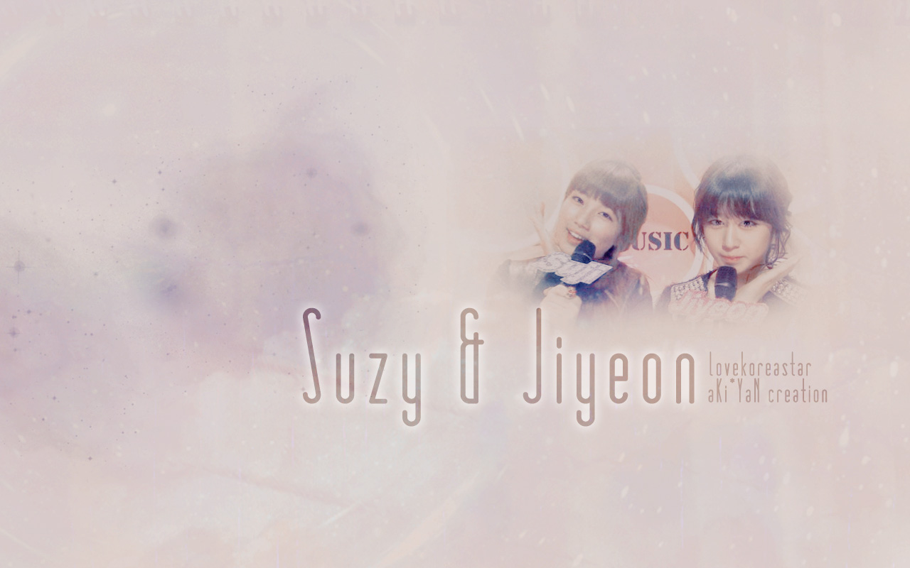 Jiyeon  T ara    Suzy  miss A  HD Wallpaper