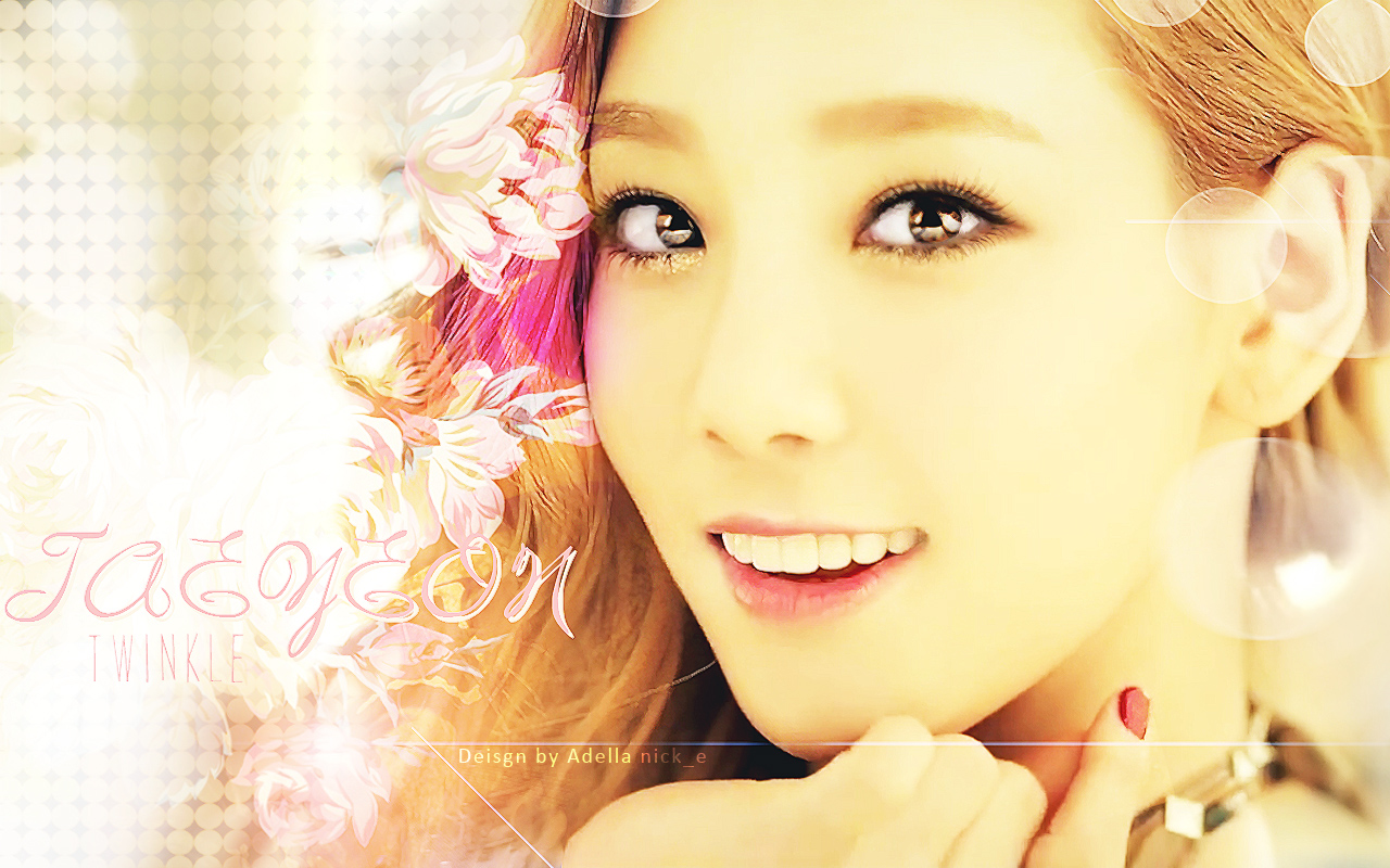 love with Taeyeon s voice  HD Wallpaper