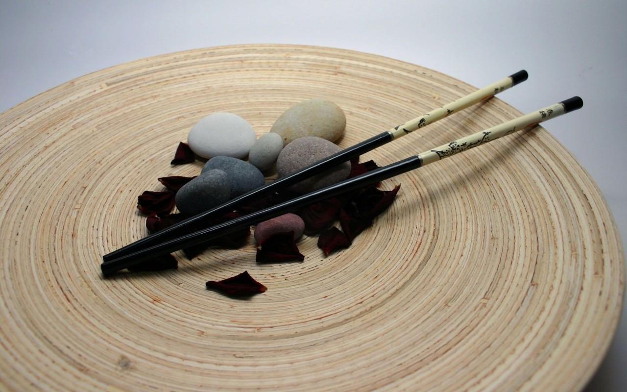 Stones  Sticks  Petals  Rose HD Wallpaper