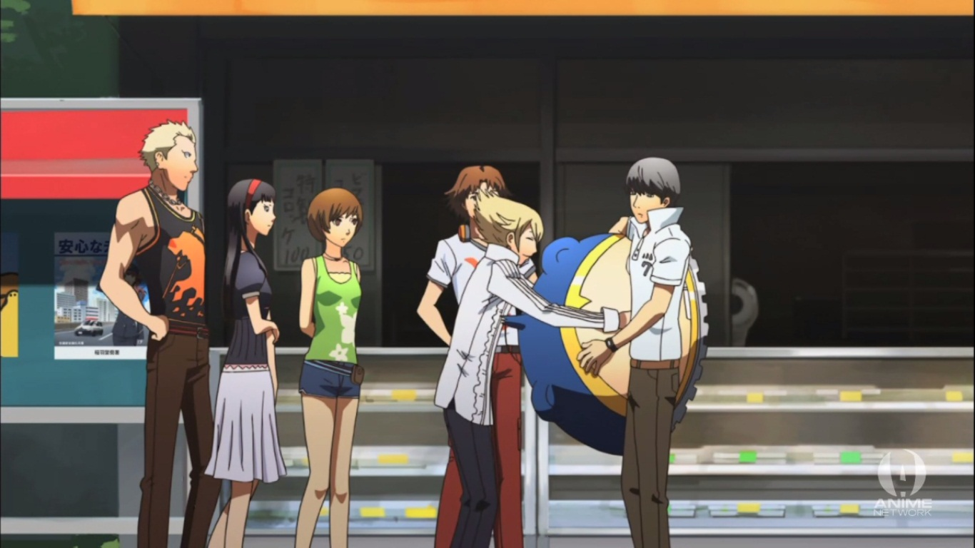 Persona 4  The Animation  Log in or sign up to comment on this topic  HD Wallpaper