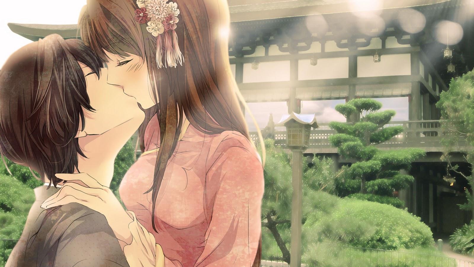 Boy  Couple  Girl  Kiss  HD Wallpaper