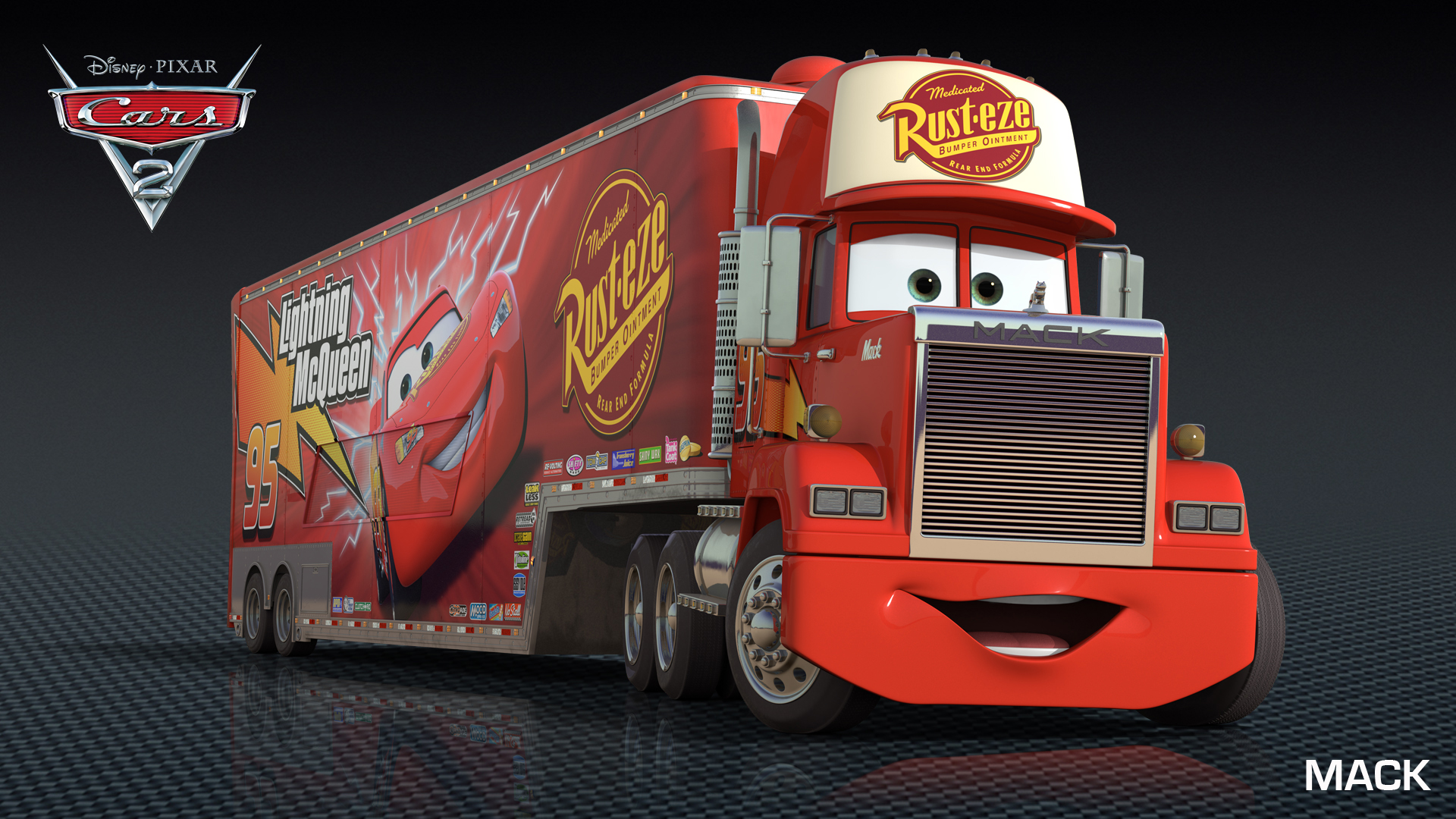 Cars 2 Character Images  HD Wallpaper