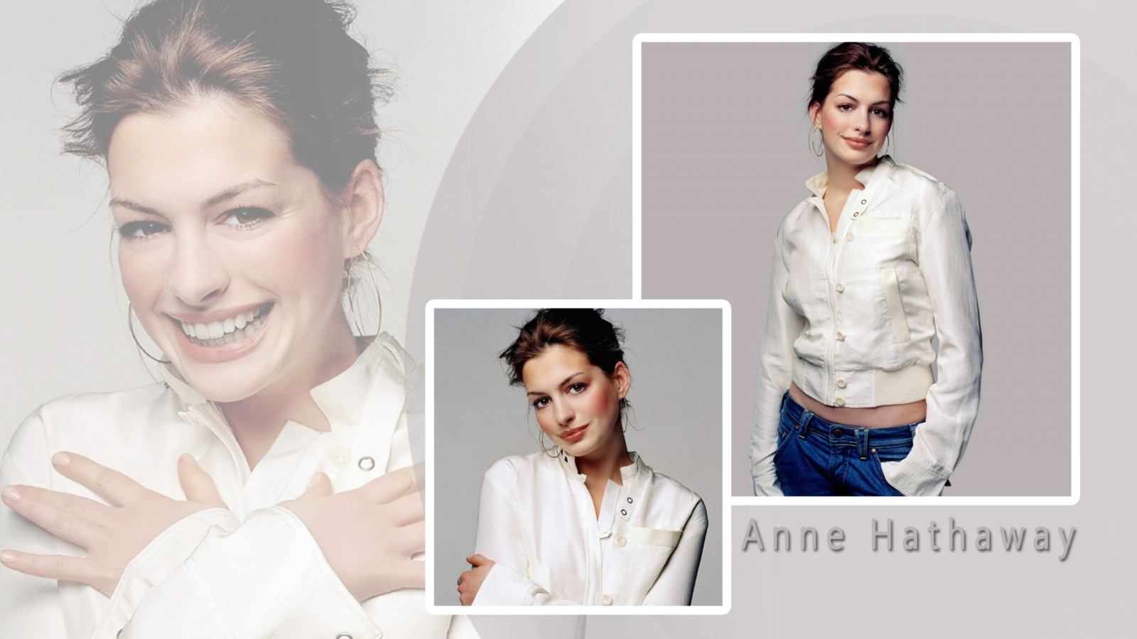 Anne Hathaway 15354 HD Wallpaper
