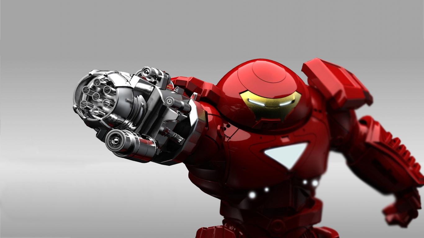 Hulkbuster iron man  HD Wallpaper