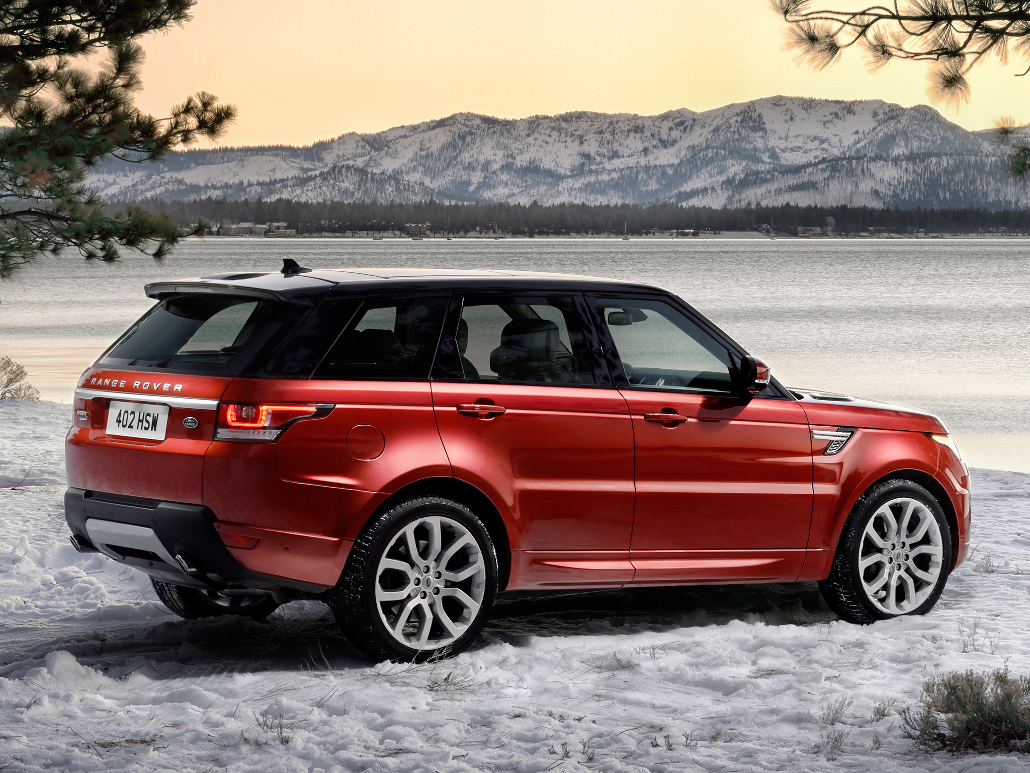 2014 Land Rover Range Rover HD Wallpaper