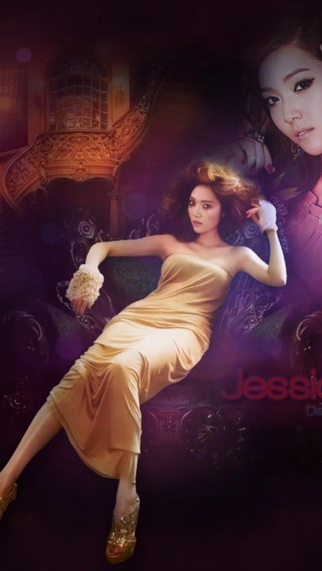 jessica Jung Soo Yeon Girls  HD Wallpaper