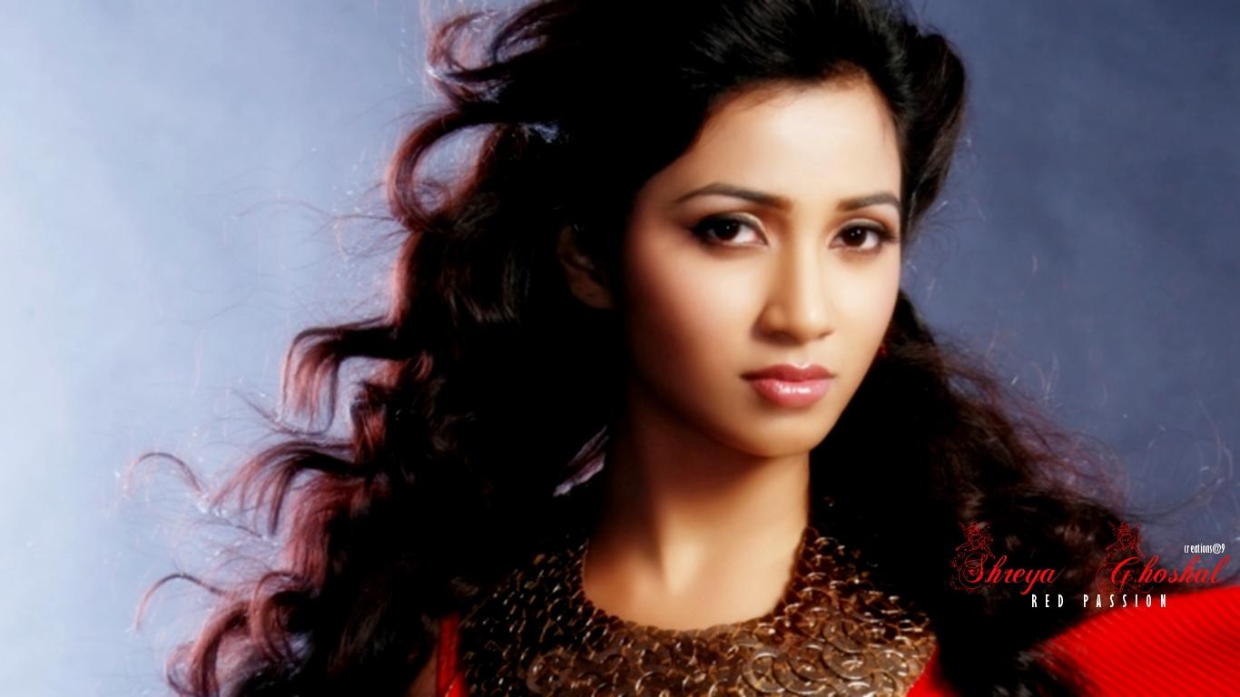 Singer Shreya Ghoshal HD Wallpaper