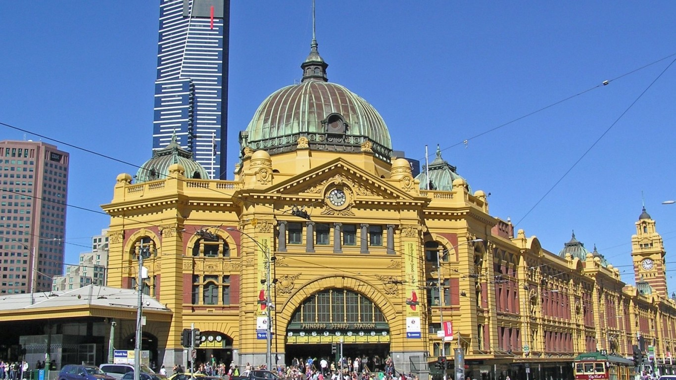 Melbourne Flinders St Station HD Wallpaper
