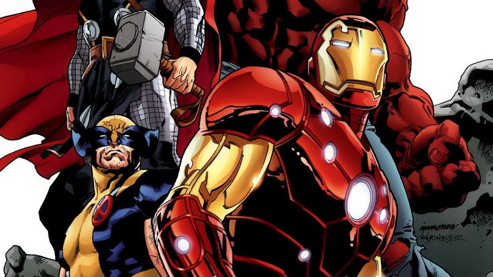 Wolverine   Iron Man  HD Wallpaper
