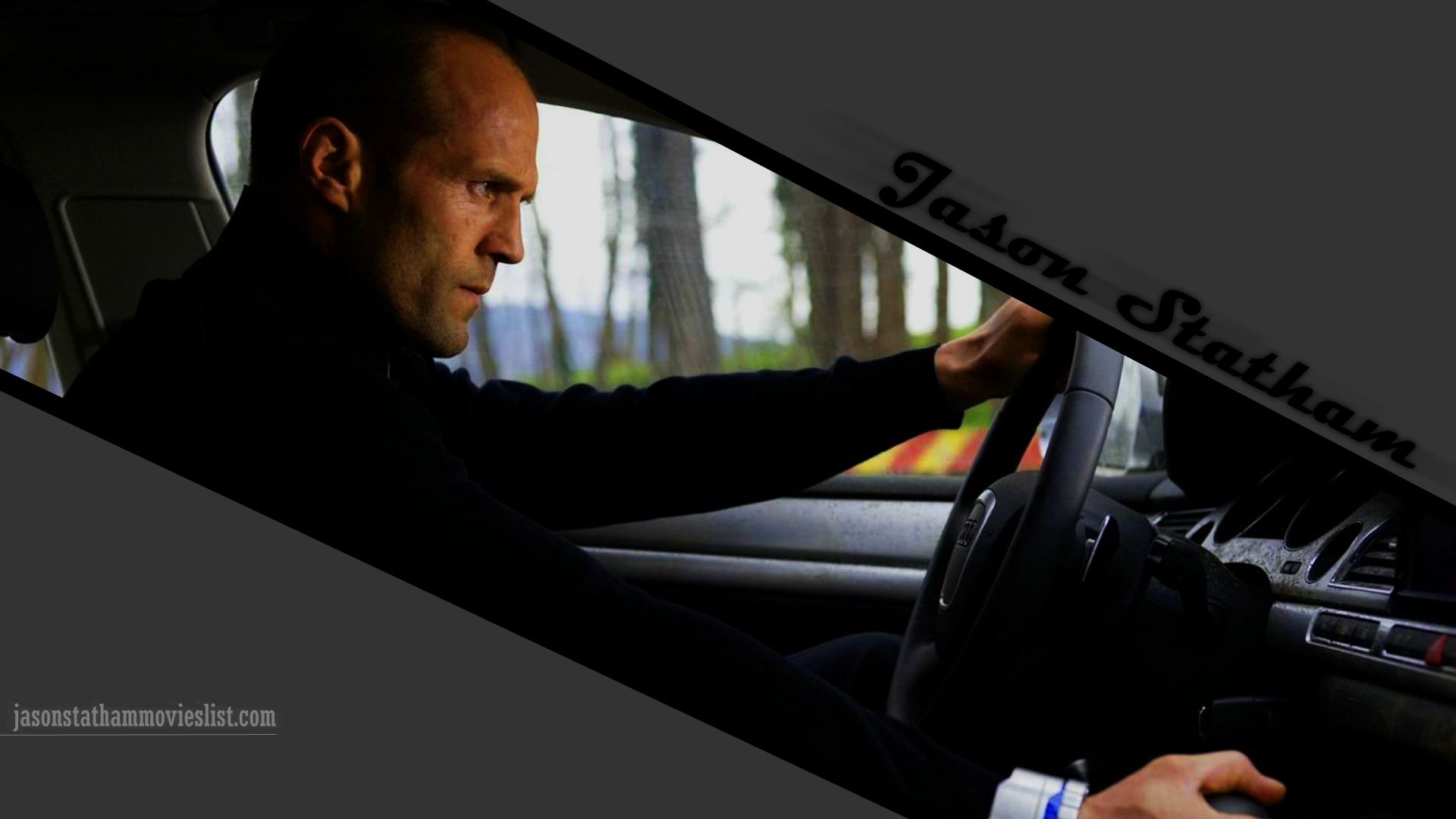 Jason Statham Driving HD Wallpaper