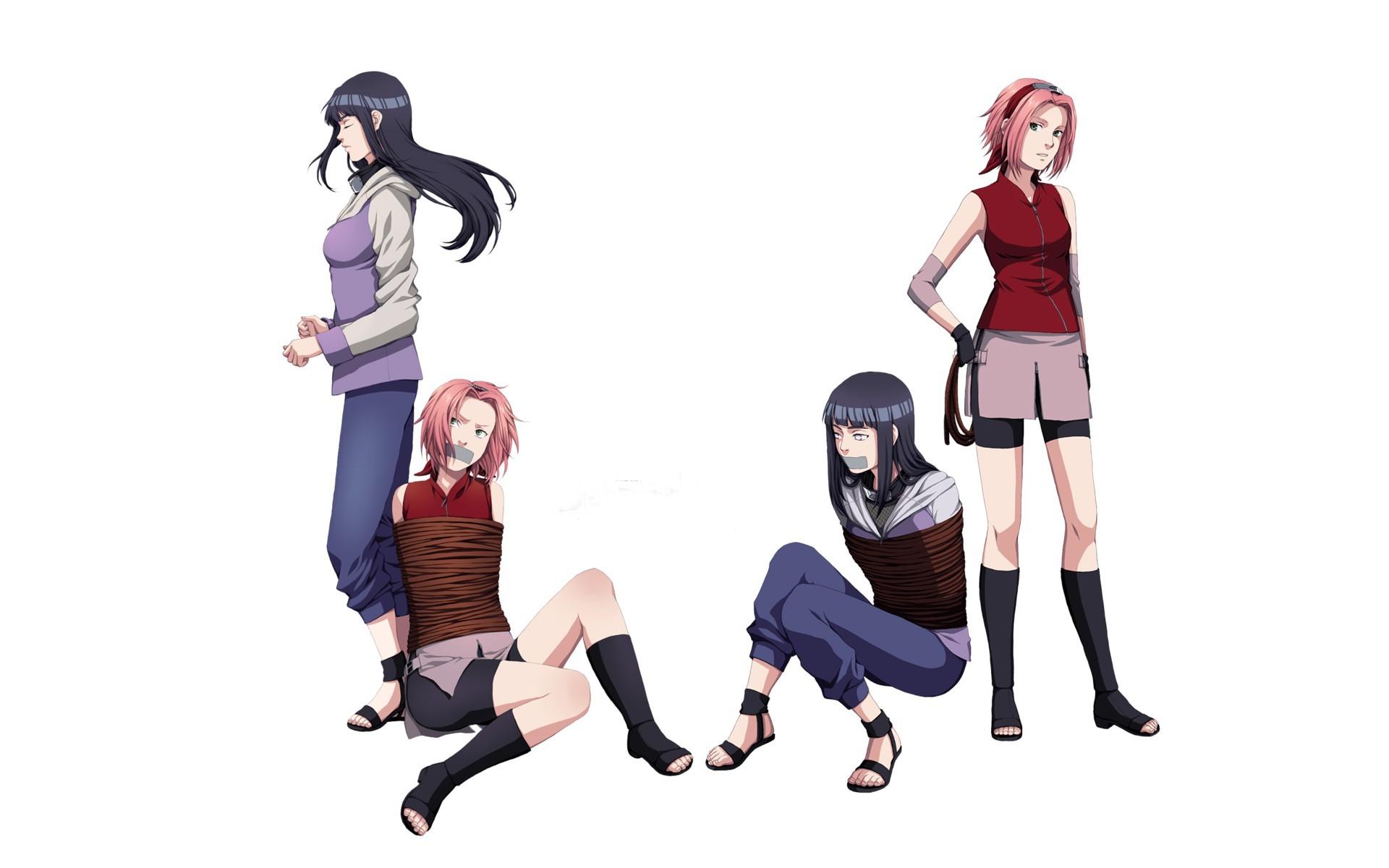 Naruto  hinata  sakura haruno  HD Wallpaper