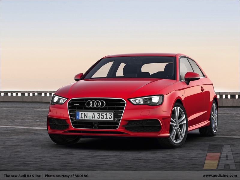 The new Audi A3 S line   AUDI HD Wallpaper