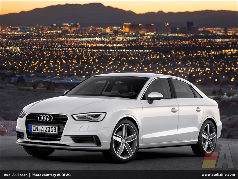 2015 Audi A3 and S3 sedans HD Wallpaper
