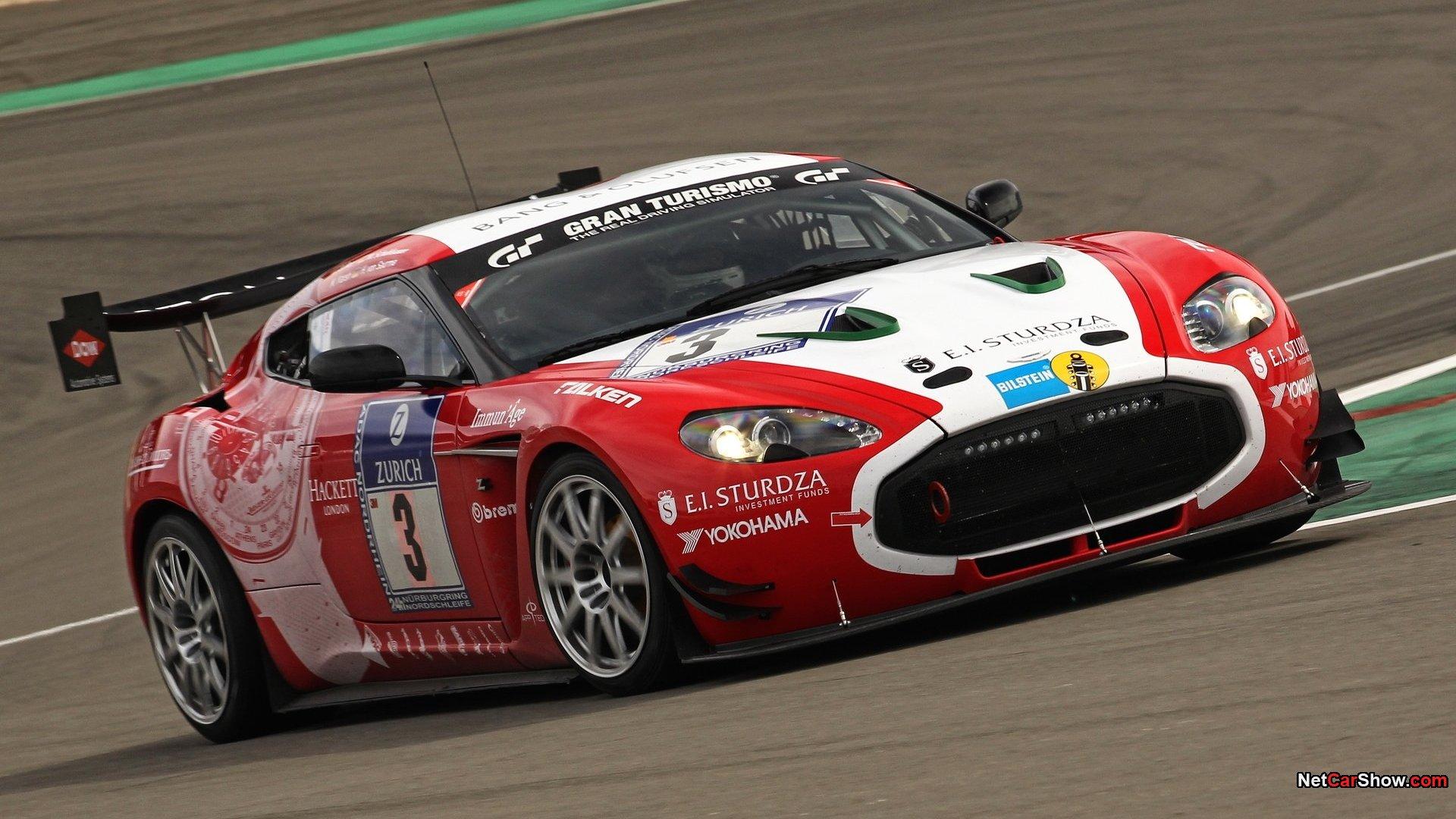 Aston Martin Zagato Race Car HD Wallpaper