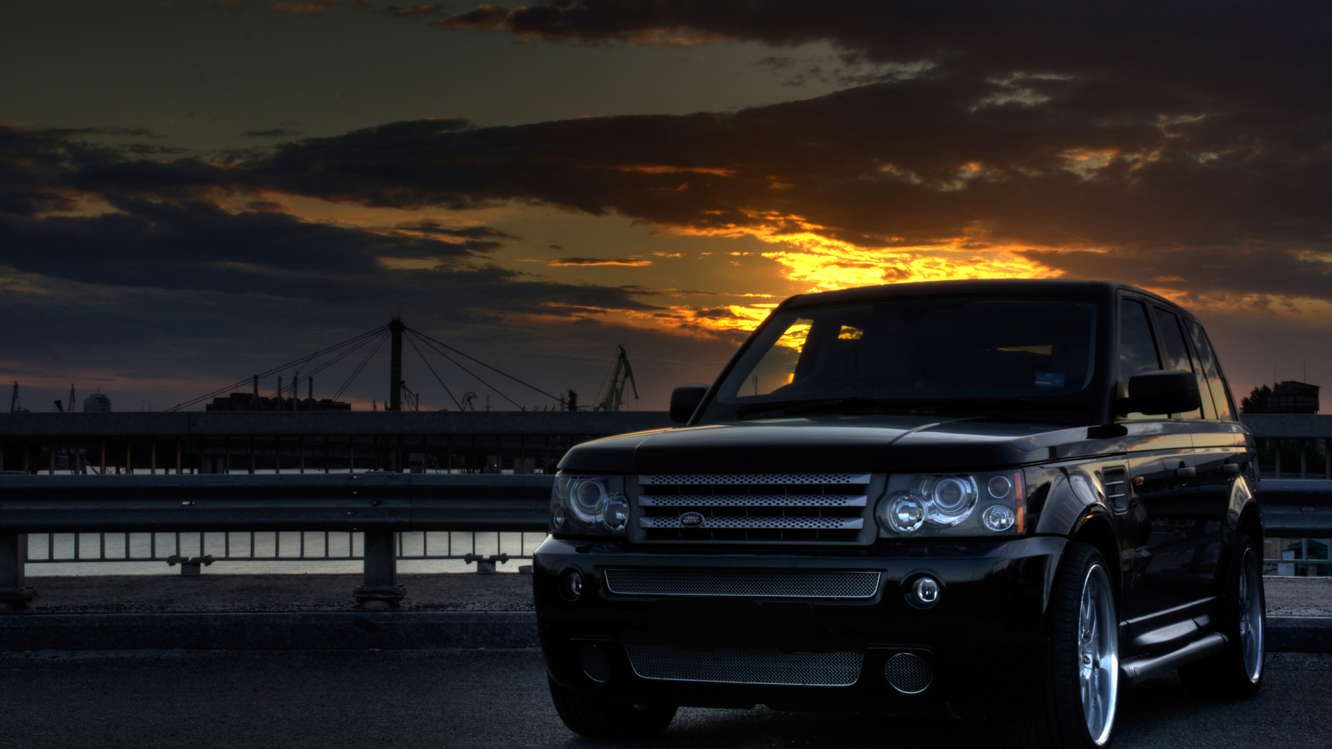 Range Rover Land Picture HD Wallpaper