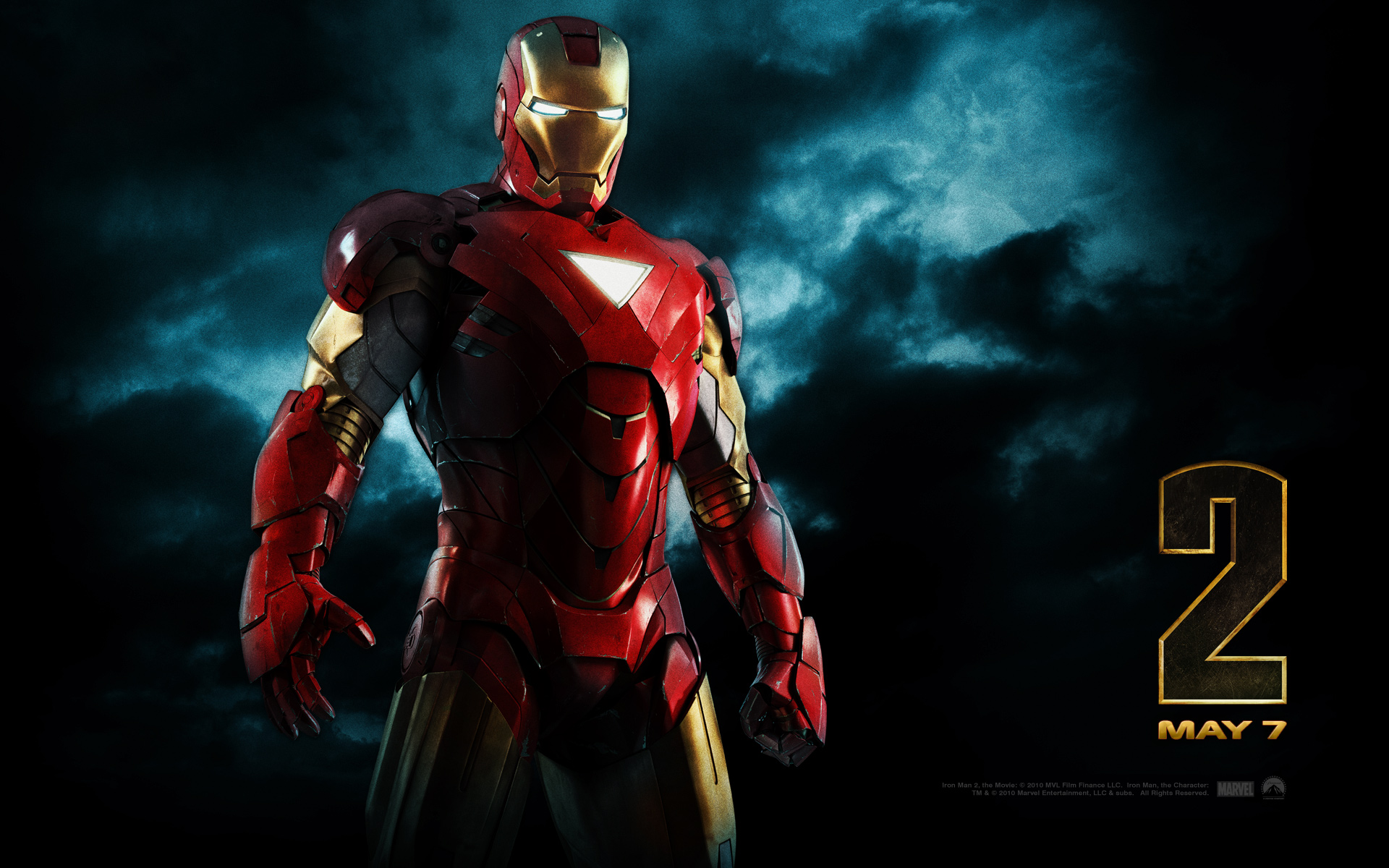 IRON MAN  1920x1200 HD Wallpaper