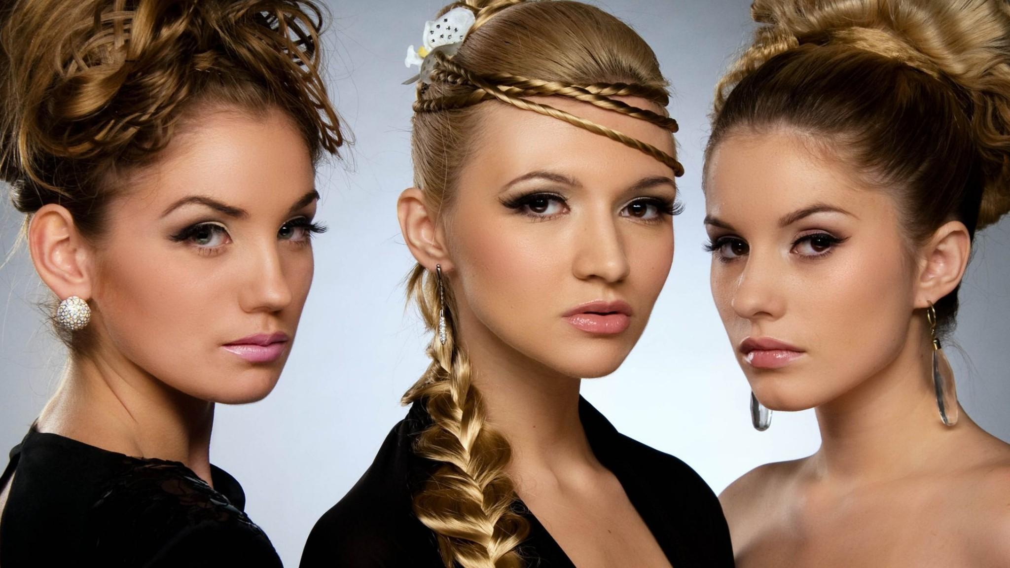 Vogue  Hairstyles  Girls  HD HD Wallpaper
