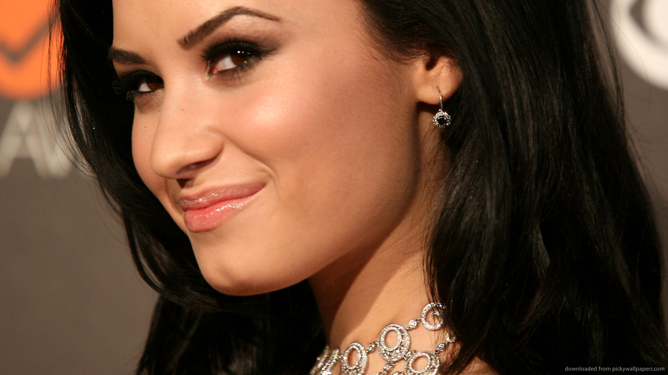 demi lovato acdc awesome HD Wallpaper